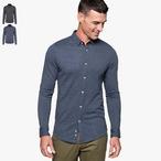 Kariban - Langärmliges Jacquard Hemd