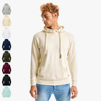 Russell - Pure Organic High Collar Hooded Sweat