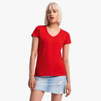 Fruit of the Loom - Ladies Iconic 150 V Neck T