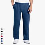 Gildan - Jogginghose mit offenem Beinabschluss und seitlichen Taschen