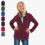 Russell - Children's Full Zip Outdoor Fleece