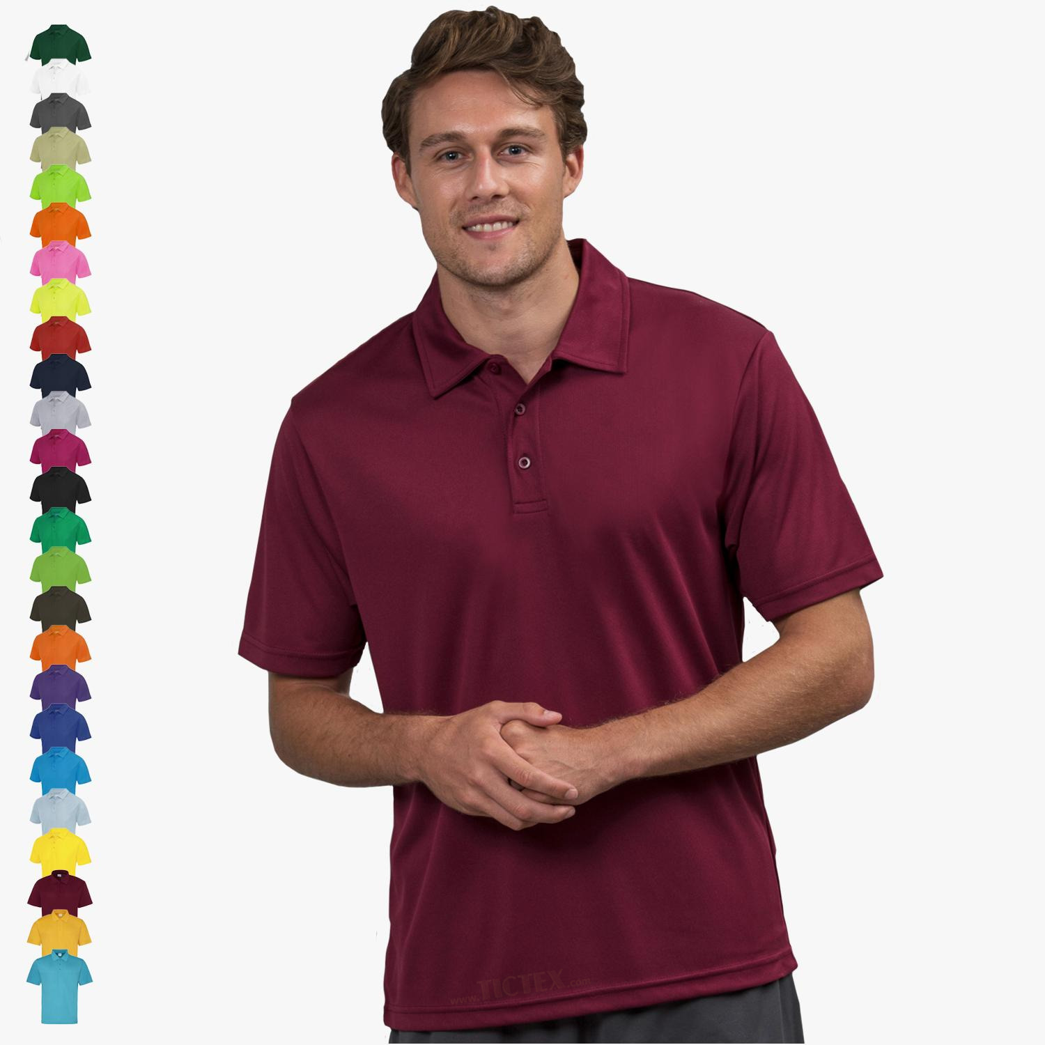 on sale fd285 7e13c Just Cool - Herren Funktions Poloshirt 'Cool Polo'