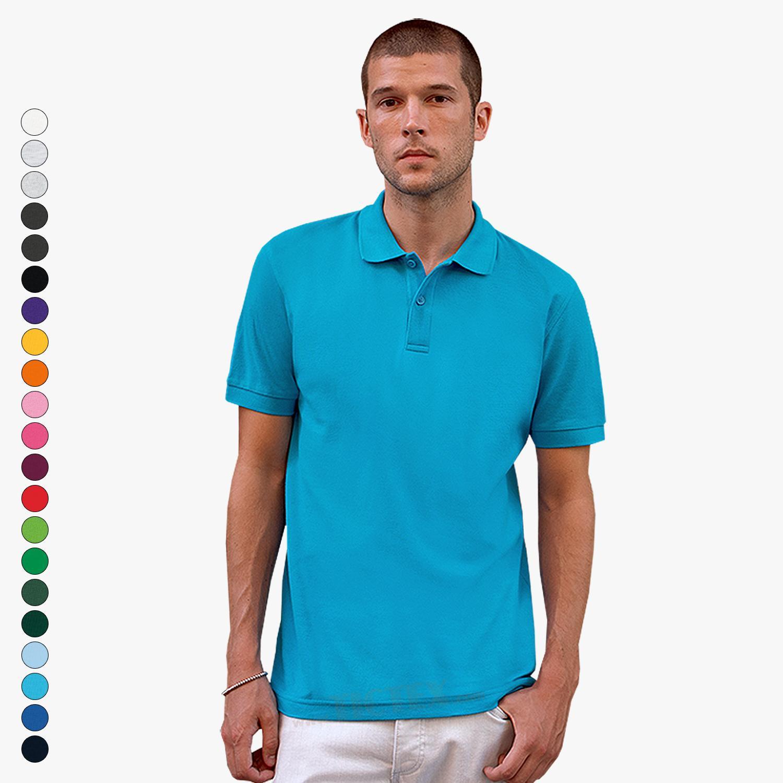 am besten bewertet neuesten außergewöhnliche Auswahl an Stilen 100% hohe Qualität Fruit of the Loom - Premium Poloshirt