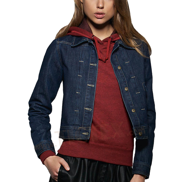 Jeansjacke damen fairtrade
