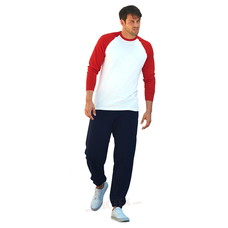 fruit of the loom jogginghose mit elastischen b ndchen 39 premium 39. Black Bedroom Furniture Sets. Home Design Ideas