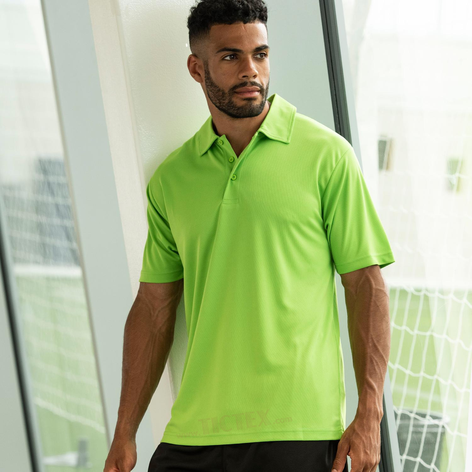 Just Cool Herren Funktions Poloshirt Cool Polo