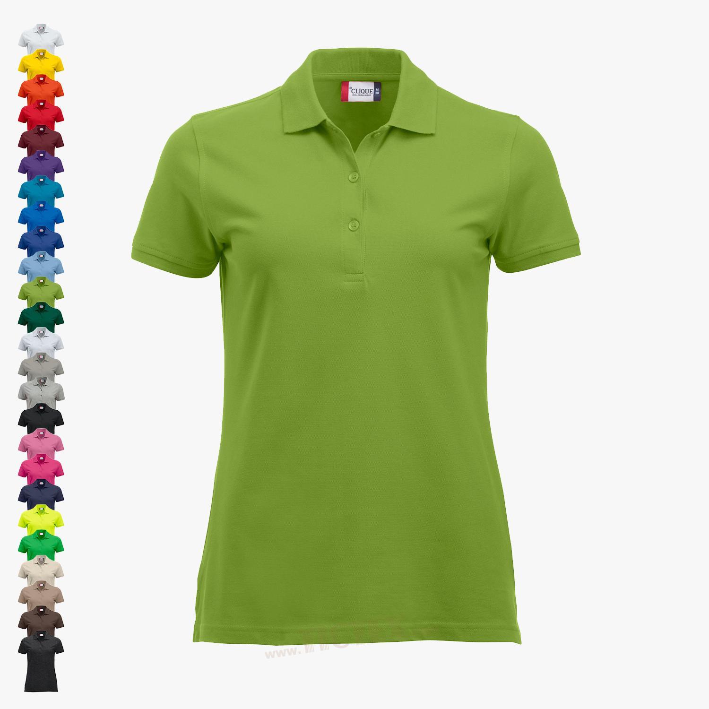 c22474c9e8c235 Clique - Damen Poloshirt 'Classic Marion s/s'