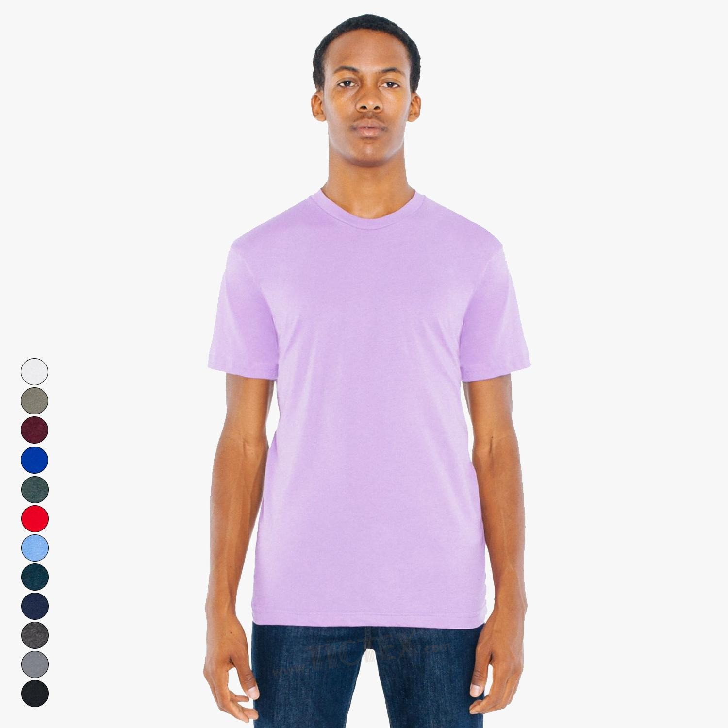 American Apparel Unisex Poly Cotton T Shirt